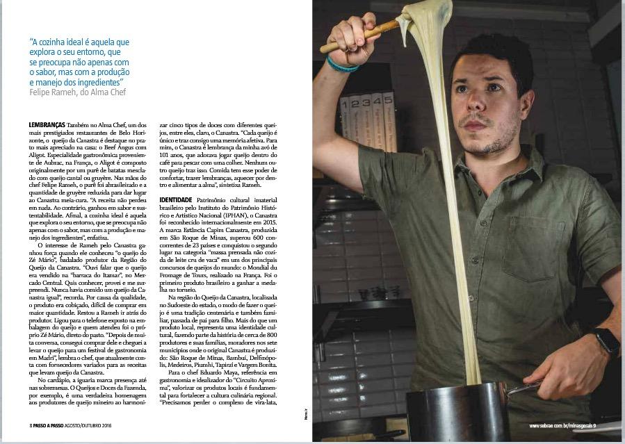 Felipe Rameh - Alma Chef